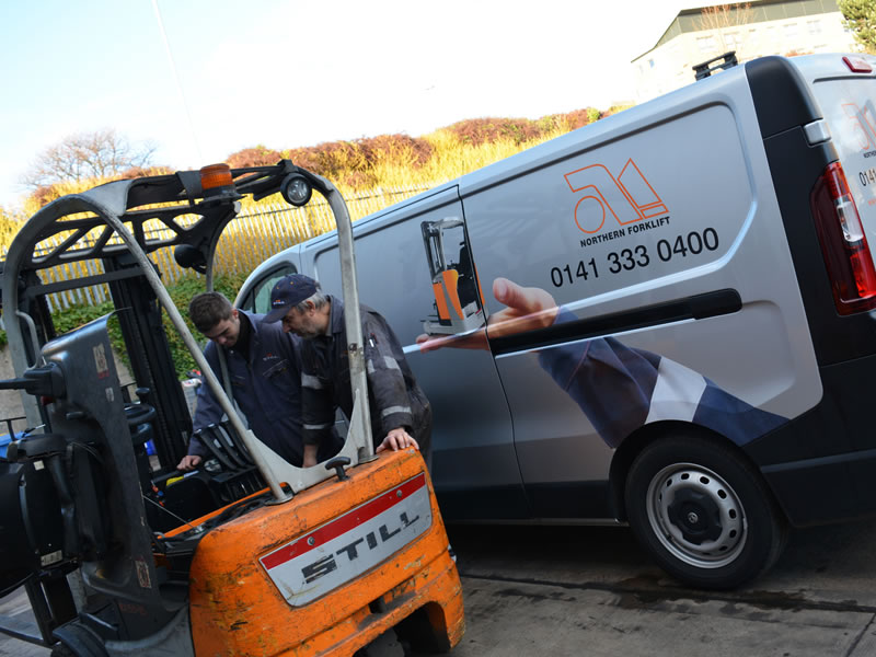 Forklift Service and Maintenance